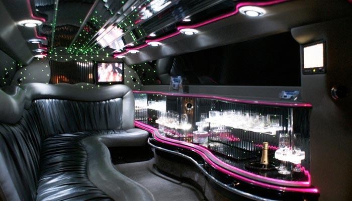 Roze Chrysler limousine - Fotogallerij 2