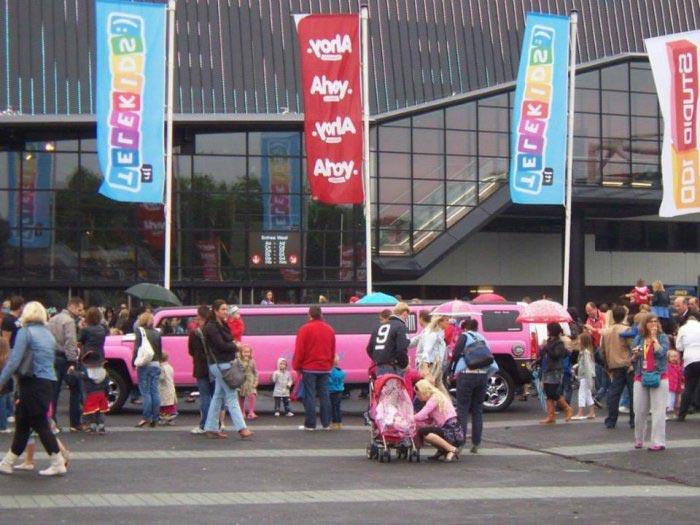 Roze limousine - Fotogallerij 1