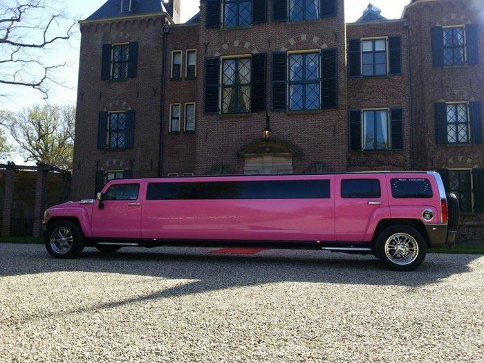 Roze limousine - Fotogallerij 2