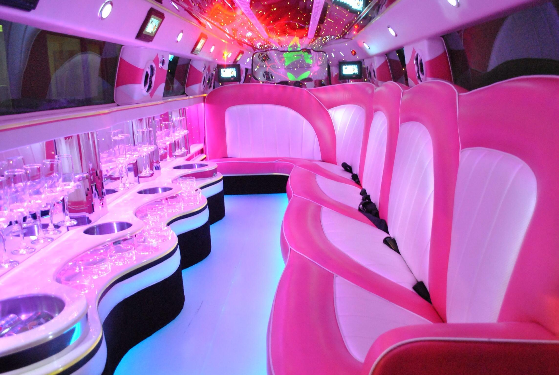 Roze limousine - Fotogallerij 3